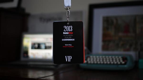 GameStop Conference Lanyard