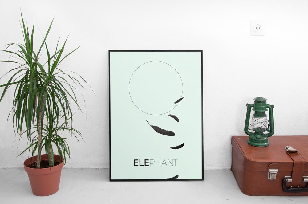 Elephant HyperGiant poster